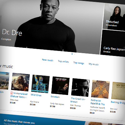 how to add songs from itunes to groove music