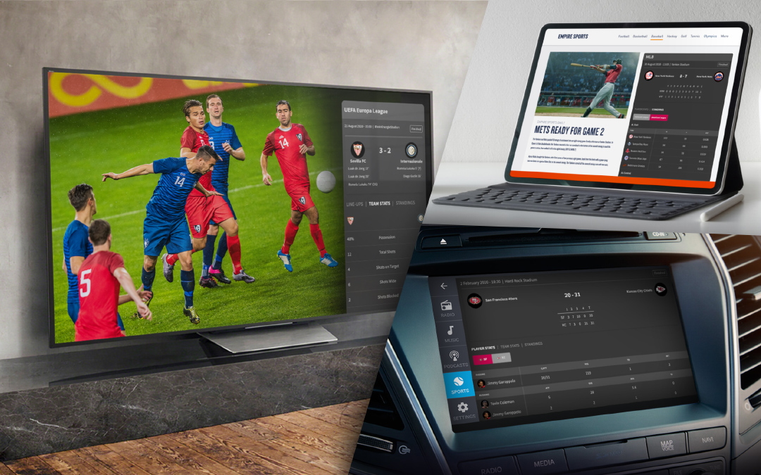Gracenote Powers New Live Sports Experiences for Smart TV and Auto Platforms